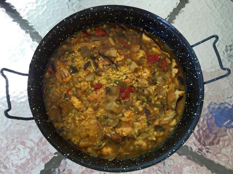 Arroz caldoso con verduras y pescado casa ruiz - Arroz con pescado y verduras ...