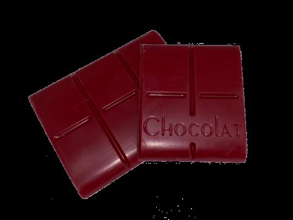 tableta de chocolate de frambuesa