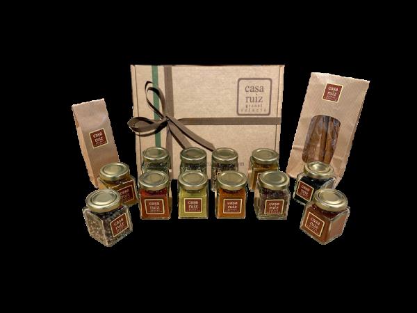 cesta de regalo sabores del mundo
