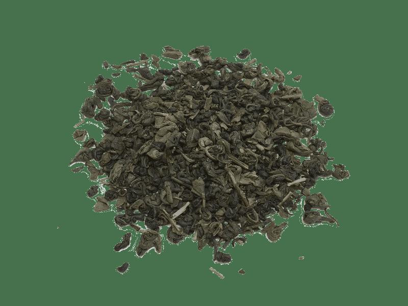 te verde Gunpowder organico